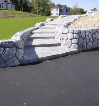 Retaining Wall Features